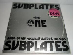 SUBPLATES VOLUME ONE 1993 CD SINGLE 4 TRACKS VARIOUS SUBURBAN BASE SUBBASE 24CD