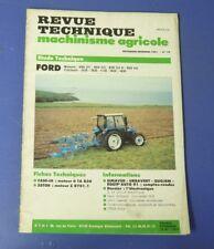 Revue technique agricole 79 Ford moteurs BSD 331 333 H 442 tracteurs 3430 3930