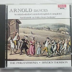 Malcolm Arnold: Dances / Thomson / Philharmonia / Chandos CD CHAN 8867