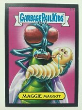 Garbage Pail Kids Topps 2015 Series Maggie Maggot 37a Full Bleed Canvas