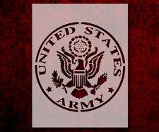 "US U.S. United States Army 8.5"" x 11"" Custom Stencil FAST FREE SHIPPING (468)"