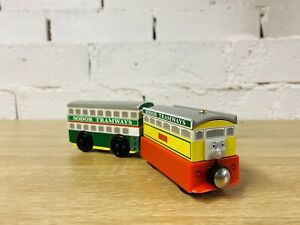 Flora & Flora's Tram - Thomas The Tank Wooden Railway Trains WIDEST RANGE