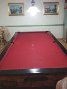 Biliardo Internazionale- Tavolo da Biliardo Professionale Garlando Usato