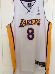 Kobe Bryant Los Angeles Lakers Swingman Jersey #8 Sunday White James Oneal Jorda