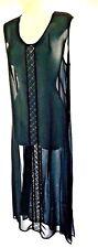 plus sz XXS(12)TS TAKING SHAPE Show Stopper Tunic Top Dress draping Sheer NWT