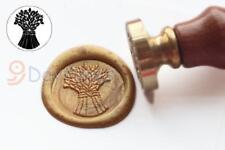 Wax Seal Stamp Wheat Sealing Wax Stamp Wedding Invitation Stamp S1218
