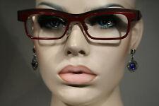 Unworn NEOSTYLE 'ICAN 108' Women's Dark Burgundy Eyeglasses Glasses Frames 51 18