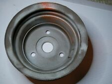 1969-74 GM Small Block Chevy SBC 350 2 Groove Crank Pulley #3956666AG