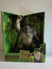 Lord of the Rings Sound & Action Cave Troll 2003 Toy Biz Figure-NEW