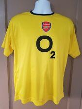 MEN'S O2 Yellow Football Shirt Soccer #15 Berman Jersey YOUTH L UFO soccer