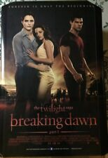Twilight BREAKING DAWN Authentic 27x40 D/S Movie Poster.