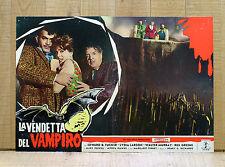 LA VENDETTA DEL VAMPIRO fotobusta poster El Mundo De Los Vampiros Tucker G7
