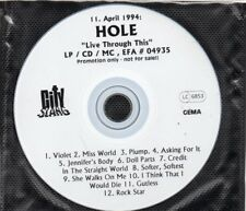 HOLE	Live Through This - PROMO	CD	City Slang ‎– EFA # 04935	1994	EU