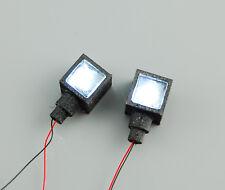 Bausatz 1Paar Arbeitsscheinwerfer + LED 7,2 Volt für Truck 1:14 1:16