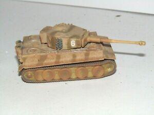 RARE CORGI FIGHTING MACHINES WWII  GERMAN DESERT TIGER 1 TANK  MINT CONDITION