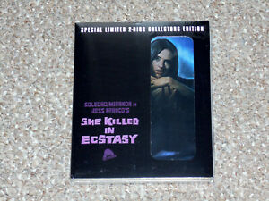 She Killed in Ecstasy Blu-ray/CD Combo 2015 New Severin with Slipcover
