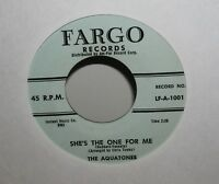 The Aquatones - She's The One For You - Doo  Wop 45 -