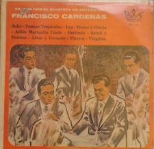 FRANCISCO CARDENAS VALS CON EL QUINTETO MEXICAN LP STILL SEALED SALSA/TROPICAL