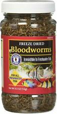 SAN FRANCISCO BAY BLOODWORMS FREEZE DRIED 0.50 OZ. FREE SHIPPING TO THE USA