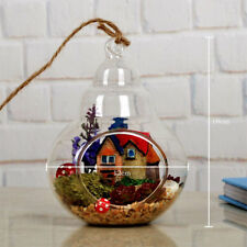 Elegant Aloe Microlandschaft Glass Vase Stand Holder Terrarium Container