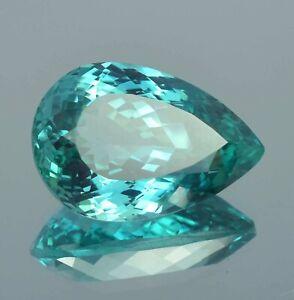 AAA Natural Flawless Bi Colour Montana Sapphire Loose Pear Gemstone Cut 25.50 Ct