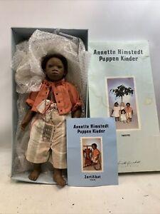 Annette Himstedt Puppen Kinder 55cm 1992/93 Pemba Doll