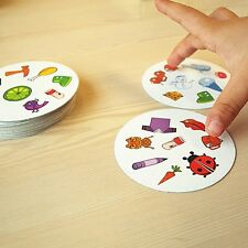 Spot It Board Game Portable Fast-Paced Observation Eye Spy Toy Gift Portable