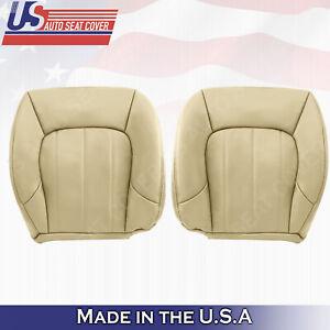 2002 - 2009 GMC ENVOY XL SLT Lower Upholstery leather seat-cover OAK-TAN