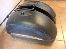 Victory Kingpin Semi Hard Saddlebags Leather Locks Keys 2874586