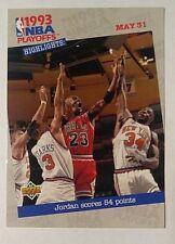 1993-94 Upper Deck Michael Jordan Basketball Card #193 Chicago Bulls