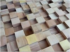 4X New BIG SALE! Quality Natural wood Diffuser skyline acoustic wall wood panel