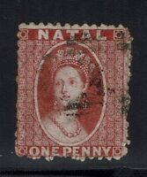 Natal SG# 20x, Brown Red, Used, Reverse Watermark -  Lot 010216