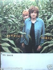 """INDIGO GIRLS 2 U.S. PROMO POSTERS: """"COME ON NOW SOCIAL""""  & """"ALL THAT WE LET IN"""""""