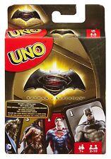 UNO BATMAN V SUPERMAN - CARD GAME