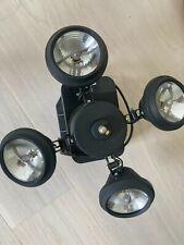 Disco Lampe für Partykeller etc. / Deckenmontage 4 Strahler von F.N. Light