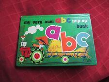 my very own abc pop up book ,dean ,1982