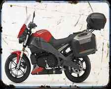 Buell Xb12Xt 09 A4 Metal Sign Motorbike Vintage Aged