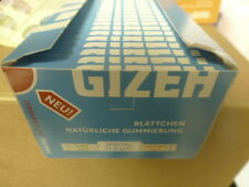 Gizeh Zigarettenpapier 1x 50=50 x 50 Blatt Special Blau Feuerzeug.1A Top!