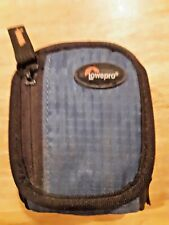 Small Digital Camera Case Bag Pouch Travel Lowepro Ridge 10 Blue & Black