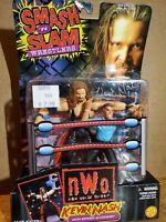 WCW Smash 'n Slam NWO Kevin Nash ToybizAction Figure Referee wwe new