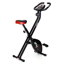 Viavito Onyx Folding Magnetic X-Bike Compact Stationary Upright Exercise Bike