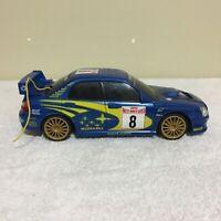 "2003 Subaru Impreza WRX Rally Blue Remote-Controlled - 7"" Car Only"