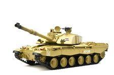 RC Panzer Challenger II Heng Long 1:16 Rauch & Schuss Metallgetriebe 2.4 GHz Neu