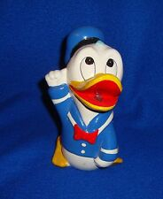 Vintage Disney Productions Donald Duck Ceramic or Chalkware Bank Made in Japan