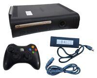 Microsoft Xbox 360 Elite Launch Edition 120GB Black Console NTSC + Controller