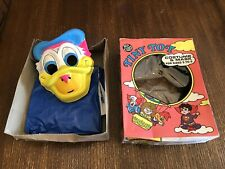 Vintage 1974 Tiny Tot Donald Duck Costume & Mask Ben Cooper Walt Disney Box