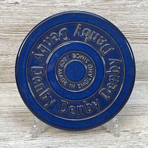 DENBY Imperial Blue Stoneware Pan Stand / Pot Trivet 23.5cm