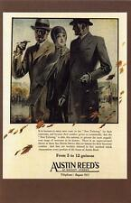 Postcard Nostalgia 1929 Austin Reed Mens Fashion Advert Reproduction Card