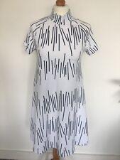 Women Dress Noisy May Short A line White Short Sleeve Medium 100% Cotton 50%Off