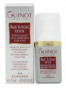 GUINOT AGE LOGIC YEUX INTELLIGENT CELL RENEWAL FOR EYES - WOMEN'S FOR HER. NEW